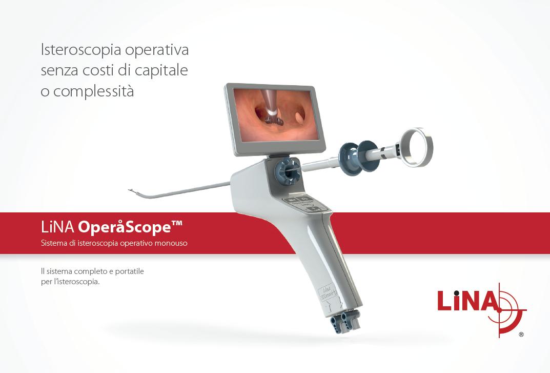 Isteroscopio operativo monouso